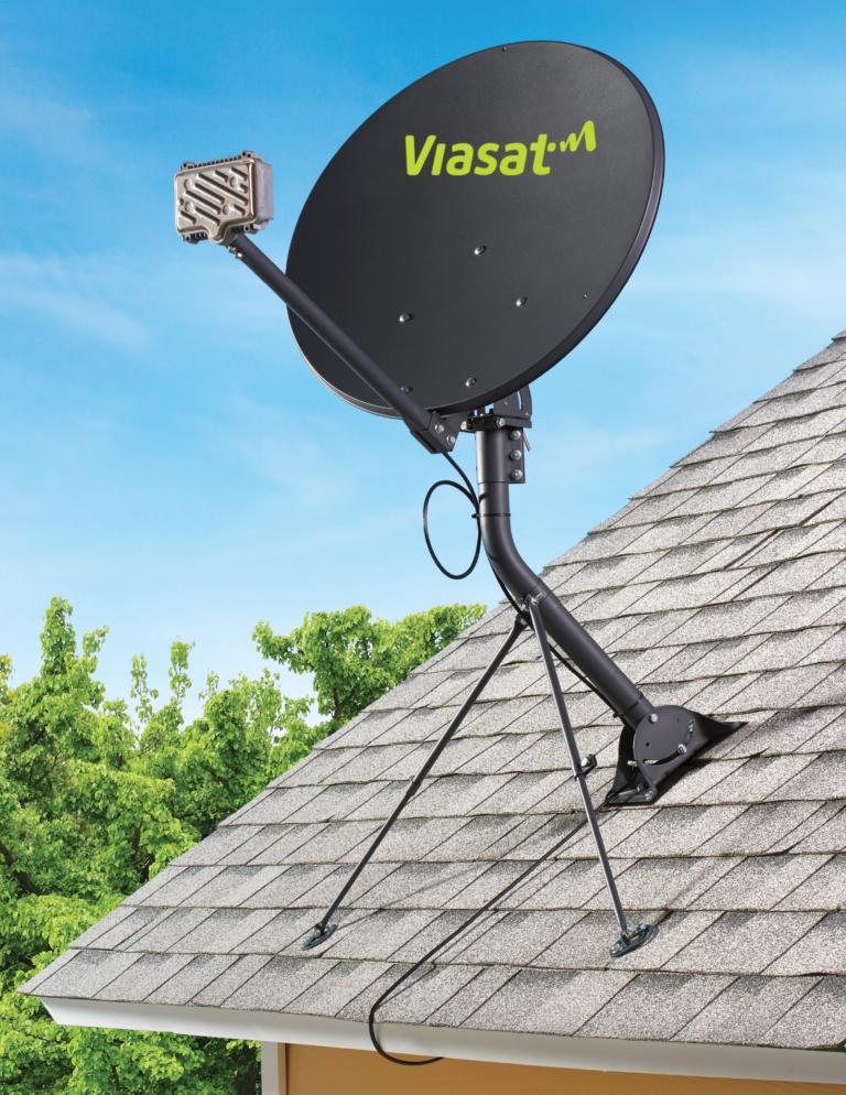 Viasat Satellite Dish Roof Mount
